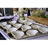 Ceramic Oyster shells for the grill or oven