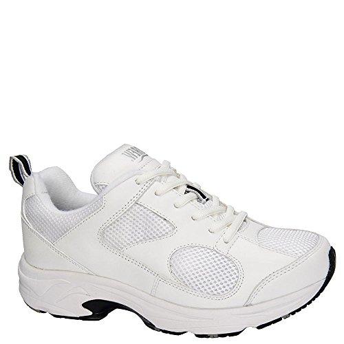 Drew Shoe Women's Flash II Sneakers,White,8.5 W - Drew Womens Flash
