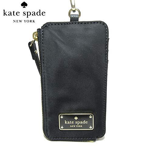 Kate Spade New York Edria Wilson Road Lanyard Wallet Black