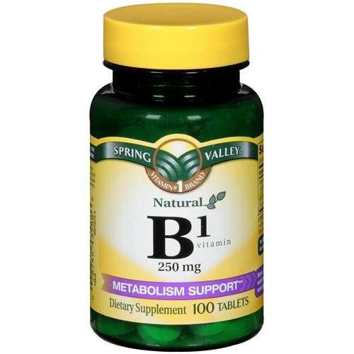 Spring Valley Natural B1 soutien du métabolisme