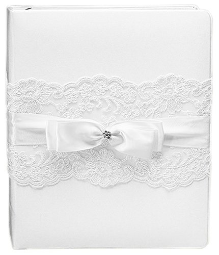 Beverly Clark French Lace Memory Book, White