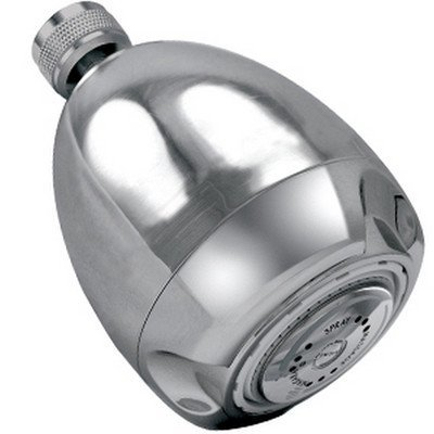 Earth Massage Showerhead Flow Rate: 2 GPM, Finish: Chrome by Available at Affordable Luxury