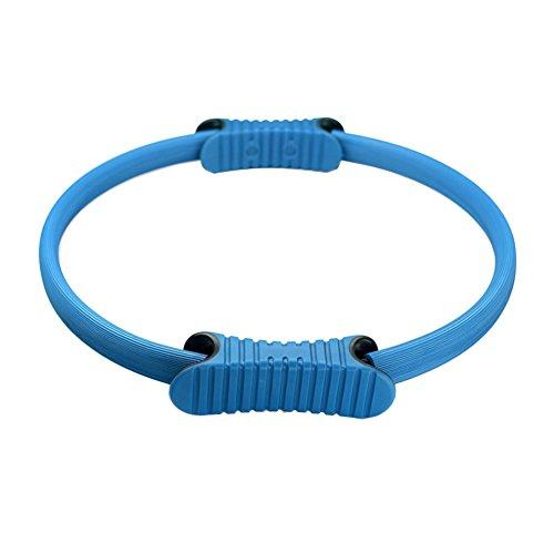 Anneau de Pilates à double poignée Ring Cercle pour les Exercices de Renforcement Musculaire