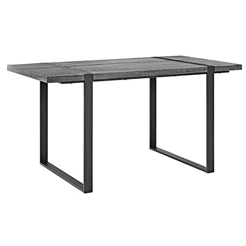 WE Furniture 60″ Urban Blend Wood Dining Table –
