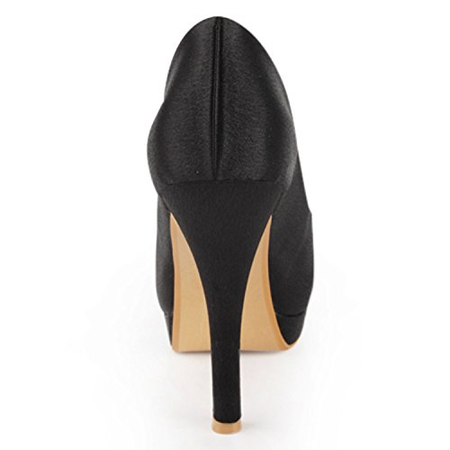 Black 13cm Heel Femme Minitoo Pour Escarpins UqOwga