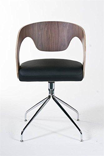 Bernice Swivel Barrel Dining Chairs - 2 Pc Set