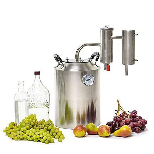 SPEAKEASY 4-Gallon Moonshine Still | Whiskey Bourbon Vodka Gin Alcohol Distiller | Stainless Steel (15L) by Speakeasy Distillers