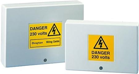 Magnificent Drayton 28003 White Lwc3 Junction Box Heating Amazon Co Uk Wiring 101 Olytiaxxcnl