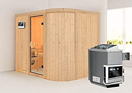 Titania 4 - Karibu sauna incluido 9-kw-horno