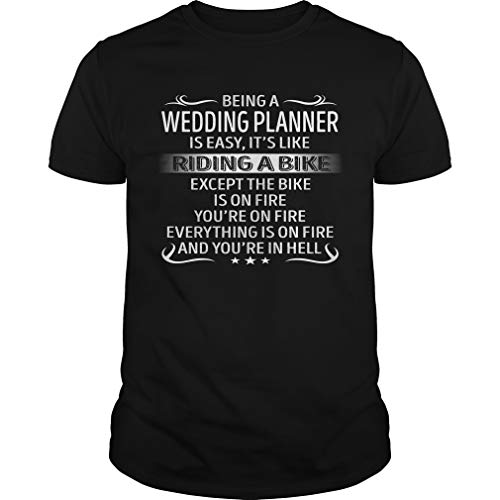 Being a Wedding Planner is Like Riding A Bike - Job Shirt by Aza Shirt