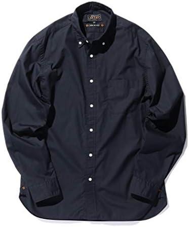 ワイシャツ カラーブロード ボタンダウン シャツ メンズ
