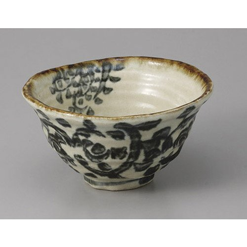 [mkd-56-27-23e] Small bamboo octopus with arabesque small bowl [12.5 x 13.3 x 7 cm] Turpente ryokan Japanese style dish for eating and drinking - Arabesque Dish