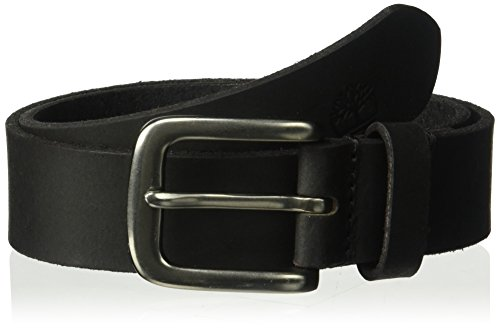 Kids Classic Belt (Timberland Big Boys' Leather Belt for Kids, Black/Classic, Small)
