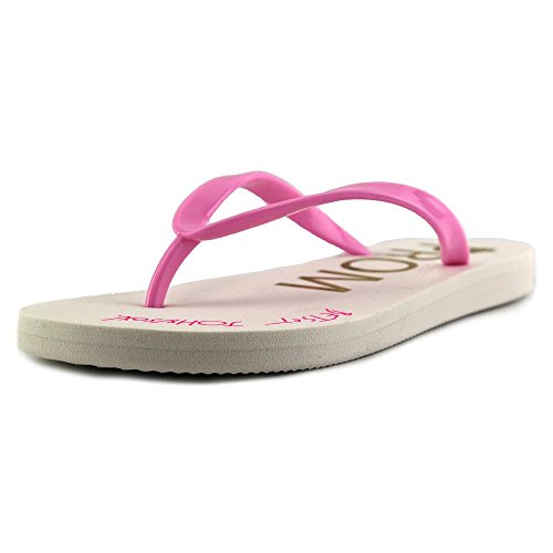 Betsey Johnson Dames Amy Open Neus Beach Slide Sandalen Roze