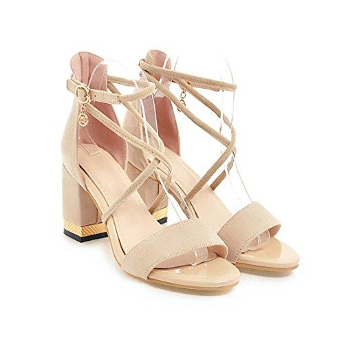 34 Des De Fond Talons Sandales Air Plein Femmes 43 Épais Hauts Loisirs Beige Maria Été SKY De Cheville Pompes Chaussures Grande Taille Xw4qSHX