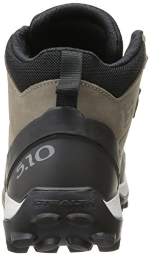 Camp Boot Hiking Mid Five Four Yellow Ten Men's Brown Swq1wxOU