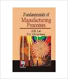Fundamentals Of Design And Manufacturing By Gk Lal Pdf