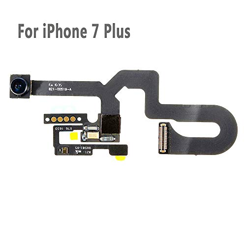 UTechZH 7MP Facing Front Camera Flex Cable W/Proximity Sensor Light Microphone Replacement Part Compatible for iPhone 7 Plus 5.5