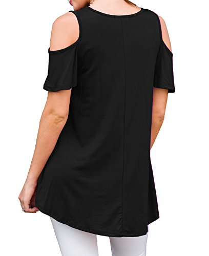 PrinStory-Womens-Short-Sleeve-Casual-Cold-Shoulder-Tunic-Tops-Loose-Blouse-Shirts