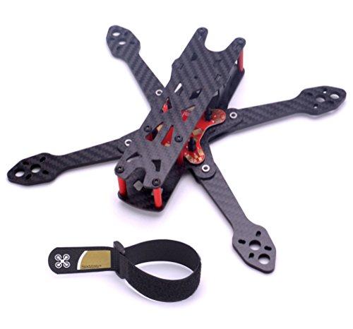 Readytosky 220mm FPV Racing Drone Frame for Martian IV Carbon Fiber FPV Quadcopter Frame Kit 4MM Arms+Lipo Battery Strap 25CM For Sale