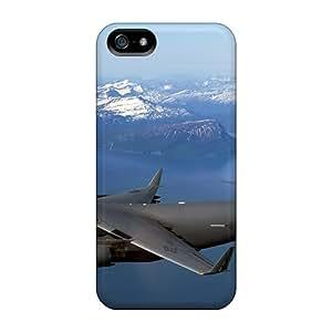 New Cute Funny C 17 Globemaster Iii Over Alaska Case Cover/ Iphone 5/5s Case Cover