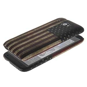 BBOBD [Blue] for HTC Desire 601 Beautiful US America Flag Plastic Case Cover