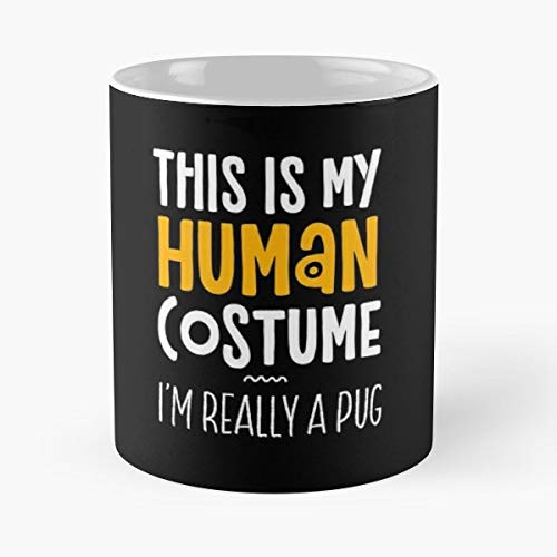 Halloween Costume Lazy Last Minute Animal Lover - Coffee Mug Best Gift 11 Oz Father Day]()