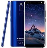 LEAGOO S8 - 5,72 pollici (18: 9 rapporto) senza bordi Android 4G Ultra slim smartphone, 4 fotocamera, Octa Core 1.5GHz 3GB RAM 32GB - Blu