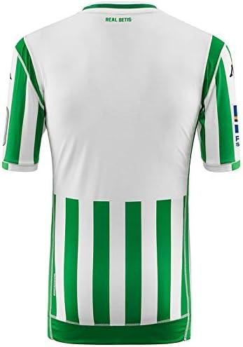 Kappa Kombat Replica Home Camiseta, Hombre, Blanco/Verde, S: Amazon.es: Deportes y aire libre
