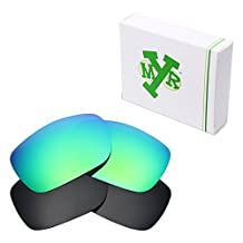 MRY 2 Pairs POLARIZED Replacement Lenses for Oakley TwoFace Sunglasses - Rich Option Colors