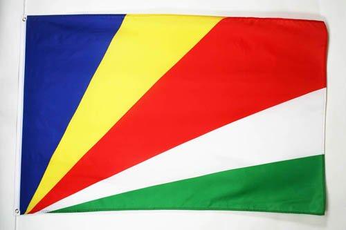 AZ FLAG Bandera de Seychelles 90x60cm - Bandera SEYCHELENSE 60 x 90 cm