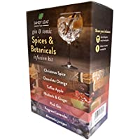 Gin and Tonic Spices & Botanicals Infusion Kit - Over 20 botanicals Blended in Artisan infusions Including Rhubarb and Ginger, Christmas Spice, Pink Gin - Perfect Gift Set for a Gin Lover
