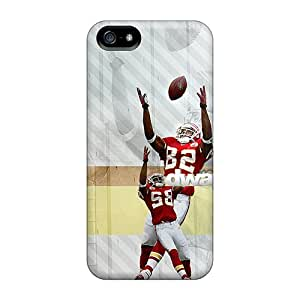 KellyLast Iphone 5/5s Perfect Hard Cell-phone Case Provide Private Custom Beautiful Kansas City Chiefs Pattern [BCU11784xeFR]