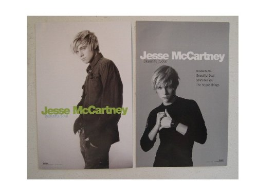 Jesse McCartney Poster Double Sided Beautiful Soul