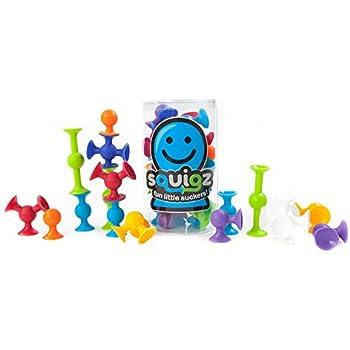 Amazon Com Fat Brain Toys Squigz Starter Set 24 Piece