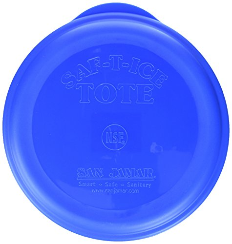 San Jamar Saf-T-Ice Commercial Ice Tote Snap-Tight Lid by San Jamar (Image #1)