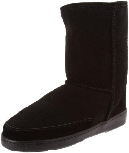 (Minnetonka Women's Short Pug Boot,Black,5 M US)