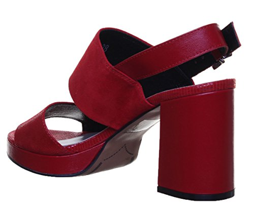pour Red nbsp;Sandales cuir Rk1 daim Reece en Sandales en 5400 Justin femme wcWfxtWP