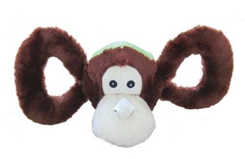 Jolly Pets Tug-a-mals Dog Toy LG Monkey, My Pet Supplies