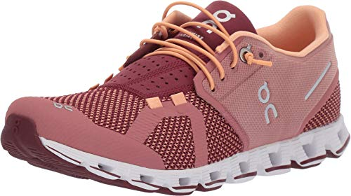 On Running Cloud Shoe - Women's Dustrose/Mulberry, 9.5 (Best Shoes On Feet)