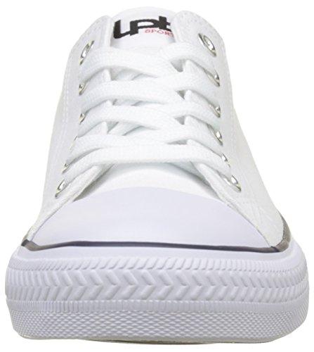 Bombes Anissa Les Basses Blanc Baskets P'tites Blanc Femme S74Hg