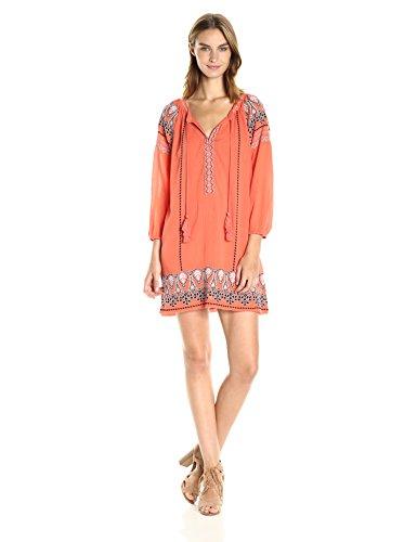 Joie Women's Nieva Dress, Blood Orange, M from Joie