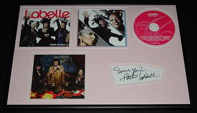 Patti Labelle Signed Framed 12x18 Photo & CD Display