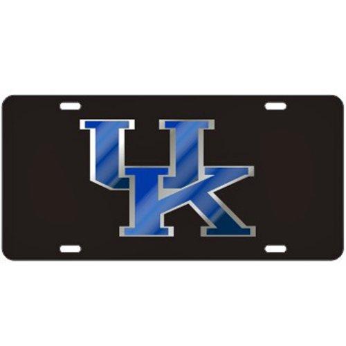 Kentucky Wildcats Black Laser Cut License Plate