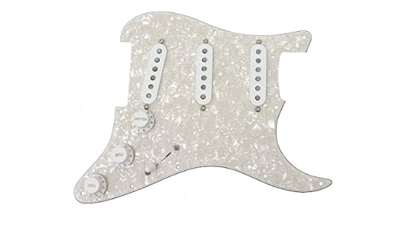 Genuine New Fender Strat Pickup Covers Set of 3 White Custom Shop USA Made+Gifts