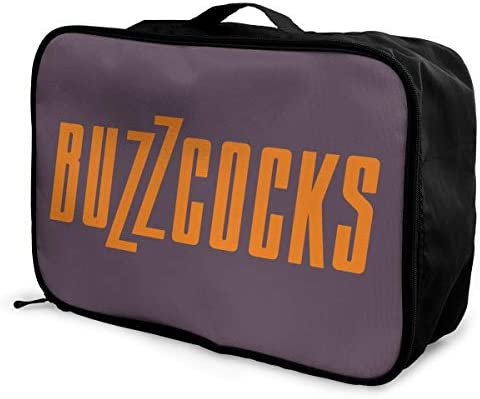アレンジケース BUZZCOCKS バズコックス 旅行用トロリーバッグ 旅行用サブバッグ 軽量 ポータブル荷物バッグ 衣類収納ケース キャリーオンバッグ 旅行圧縮バッグ キャリーケース 固定 出張パッキング 大容量 トラベルバッグ ボストンバッグ