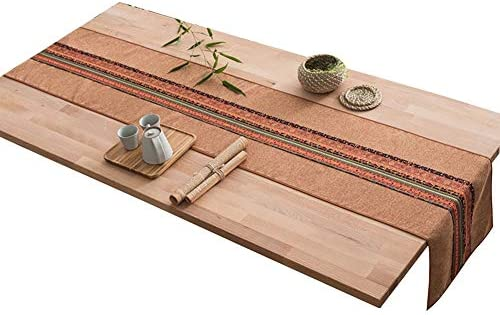 Litingfc Table Runner Home Decorative Rectangular Party Gift Tapestry Outdoor Parties For Dining Table Decor 2 Colors 5 Sizes Color Brown Size 30x160cm Buy Online At Best Price In Uae Amazon Ae