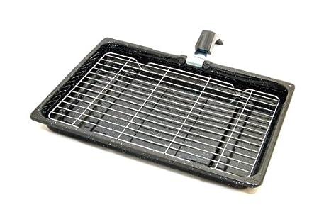 Spares4appliances - Bandeja con rejilla universal para horno (38 x ...