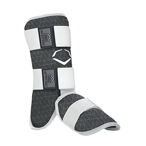 EvoShield EvoCharge Batter's Leg Guard - Adult, Black