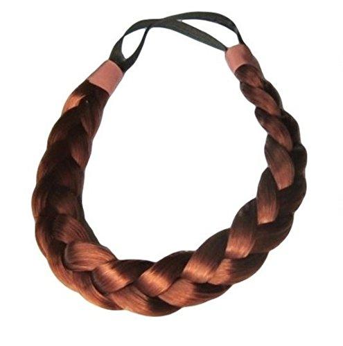 Plaited Chunky Headband Copper Synthetic